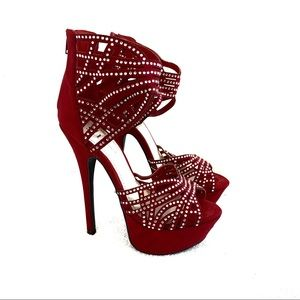 Shi by Journey's Caged Stiletto Heels